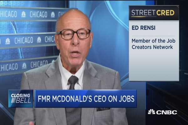 Jobs signals soft underlying economy is: Fmr MCD CEO