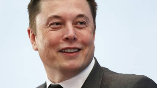 CEO of Tesla, Elon Musk