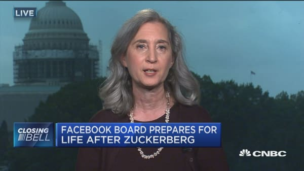 Facebook board prepares for life after Zuckerberg