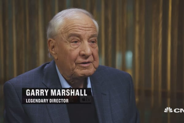 Garry Marshall doesn't have time for binge watching