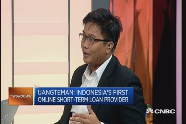 Indonesia's first online short-term loan provider