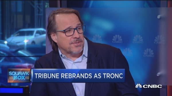 Tribune's new name, new strategy