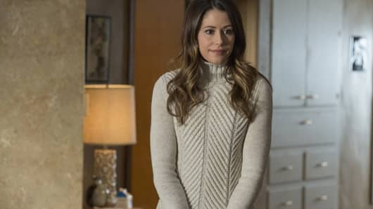 Amanda Crew as Monica featured in the HBO original series, Silicon Valley.