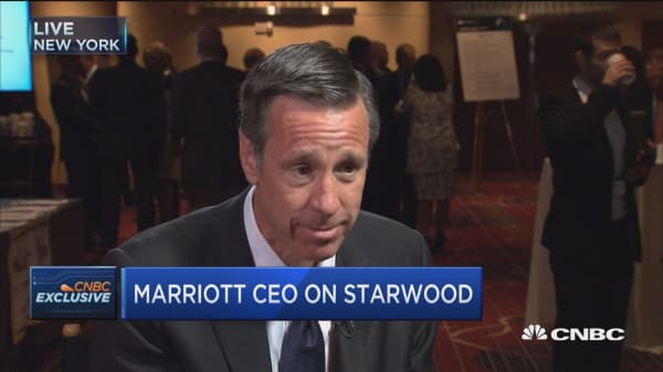 Marriott CEO on the industry, Starwood