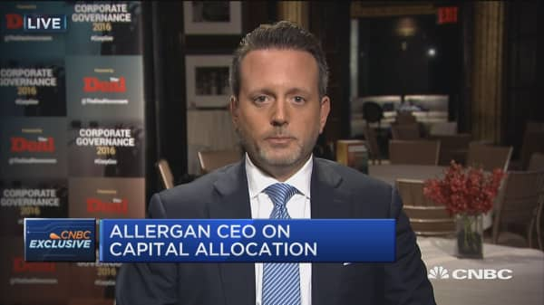 Allergan CEO on deal with Teva
