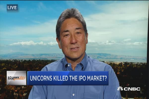 Unicorns killed the IPO market?