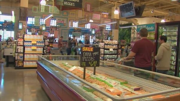Whole Foods stock gaining on bullish Barron's article