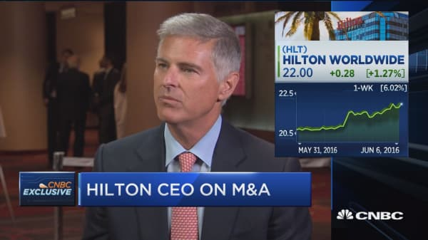 Hilton CEO: We're leading the business in organic growth