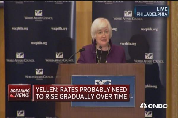 Yellen speaks at WAC luncheon