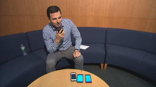 CNBC's Eric Chemi tests out personal assistant apps.