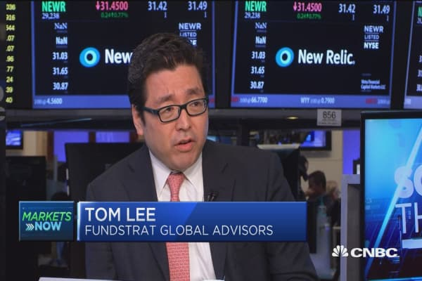Tom Lee: Market too concerned about Fed hike
