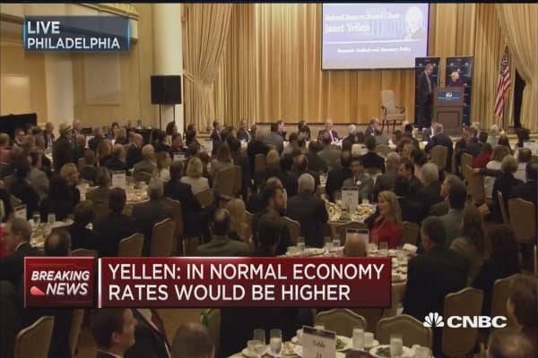 Yellen on a possible Trump presidency