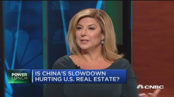 What's driving Chinese buyers to US real estate?