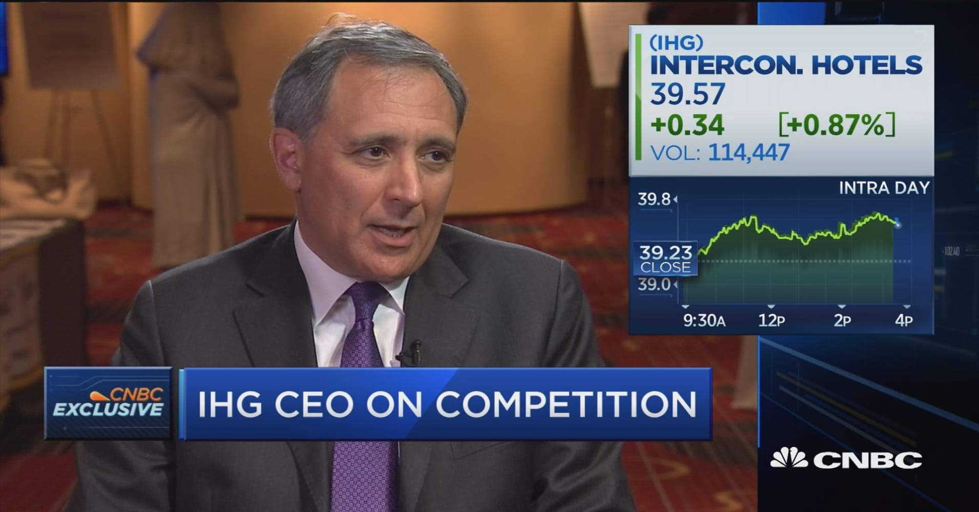 We have scale: IHG CEO