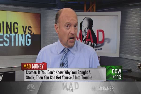 Cramer: Trading vs Investing—know the difference!