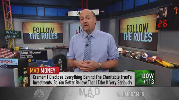 Cramer: How to bail yourself out when things go awry