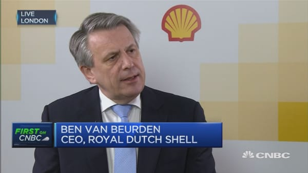 Incorporating BG will lower costs: Shell CEO