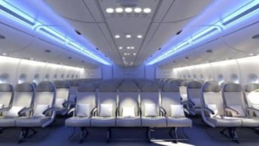 A new A380 seating configuration will create a middle seat in the middle row