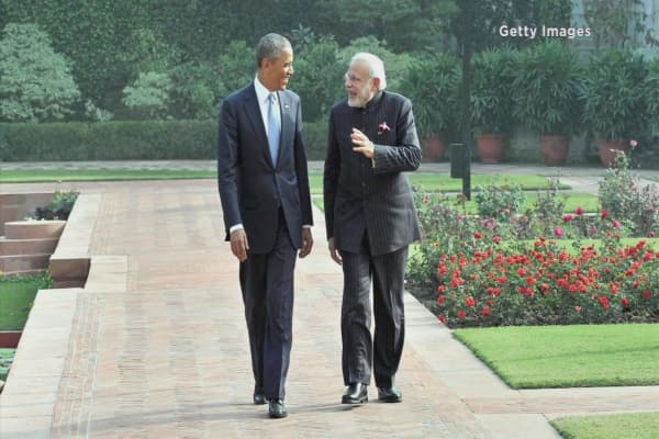 India's Modi looking to secure US relationship
