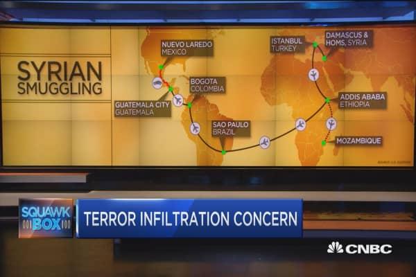 Syrian refugee smuggling ring revealed