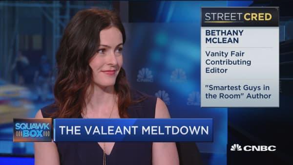 Valeant meltdown under scrutiny