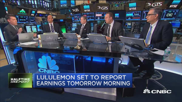 Top trades for the 2nd half: Lululemon