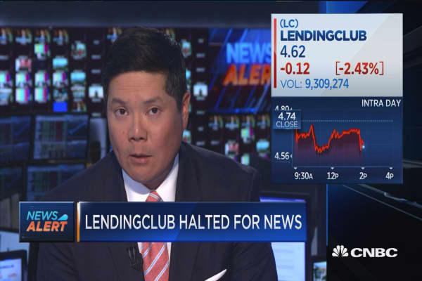 LendingClub trading remains halted