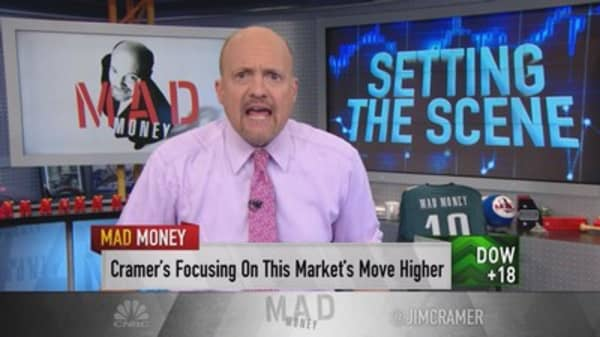 Cramer: Investors pouring money into stocks with international exposure