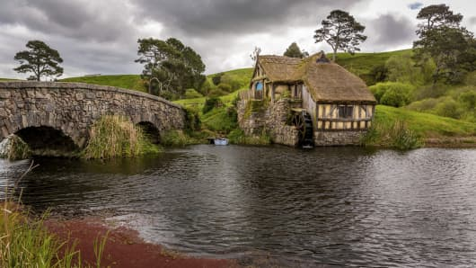 New Zealand, famed for its scenery featured in the Lord of the Rings series, is more than Hobbits and milk, says its economic development minister.