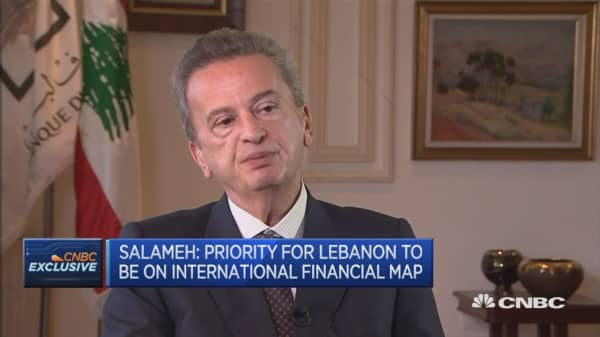Lebanon is in political deadlock: Governor