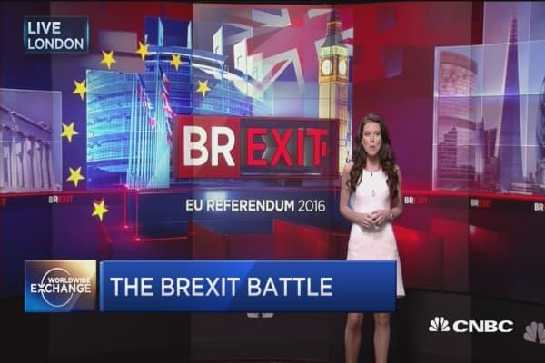 Britain's 'Brexit' battle