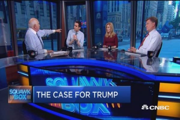 Ken Langone: Big time problem with Trump