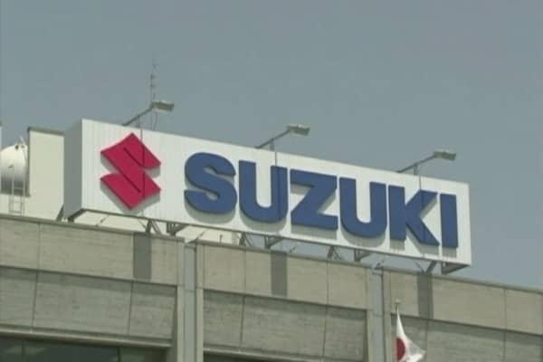 Suzuki CEO to resign over fuel-economy scandal