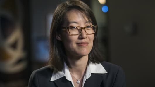 Ellen Pao, former venture capitalist at Keiner Perkins Caufield and Byers and former interim chief executive officer of Reddit