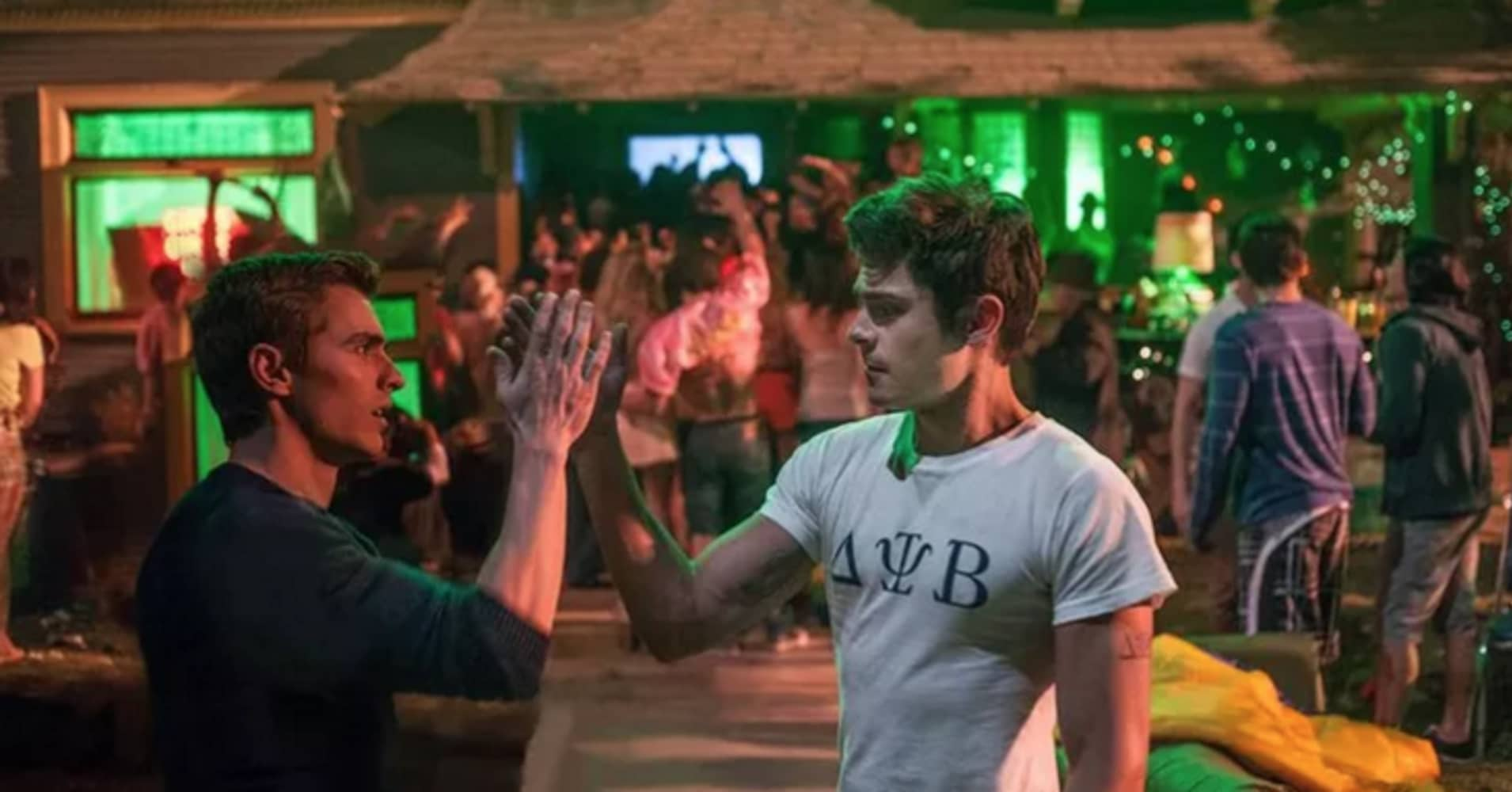 Neighbors movie still featuring Zac Efron and Dave Franco