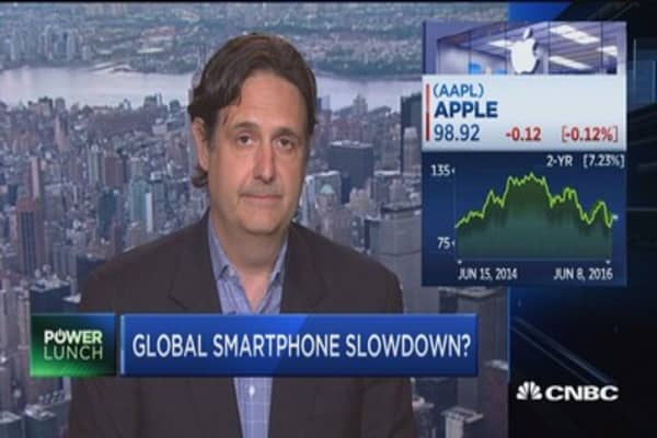 Global smartphone slowdown?