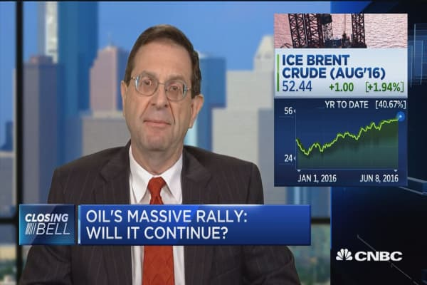 Behind oil's massive rally