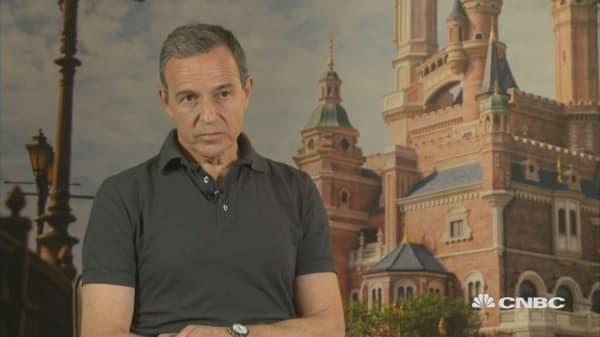 Bob Iger: China park is 'booster rocket' for Disney
