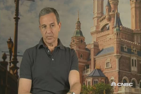 Bob Iger: How we tailored Shanghai Disneyland to China