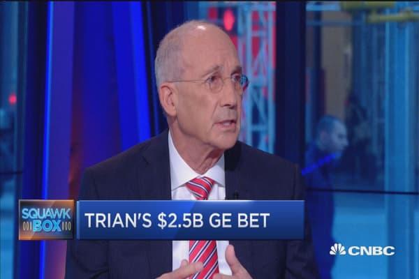 Trian's $2.5B GE bet