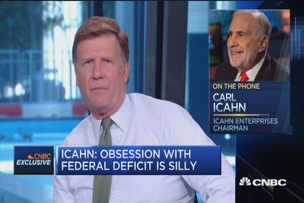 'Ridiculous' to call Trump a racist: Carl Icahn