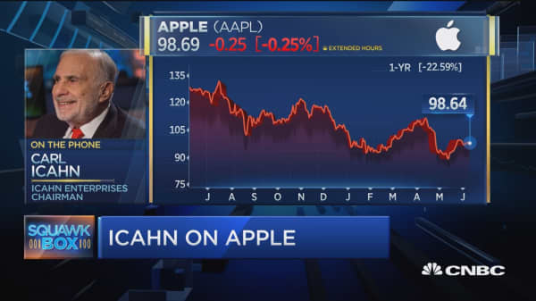 Icahn: Apple's a great company but...