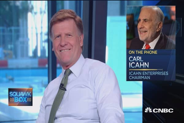 Bill Ackman 'totally wrong' on Herbalife: Icahn