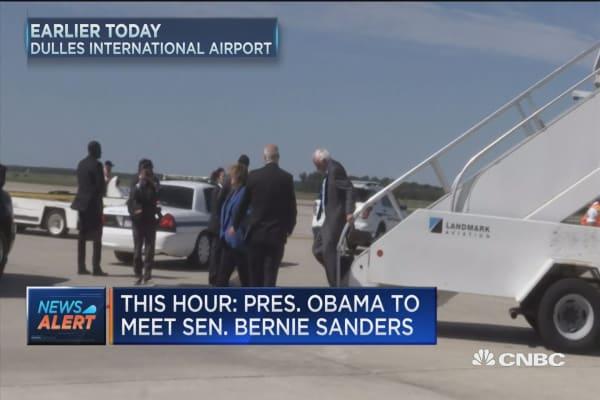 Sanders, Obama to meet