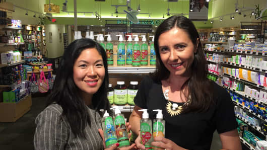 Moms on a mission: Irena Todd and Jean Sims, founders of Fresh Monster