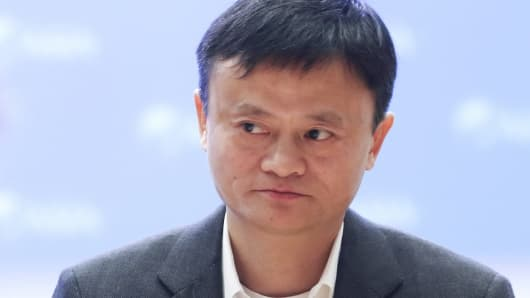 Jack Ma, CEO of Alibaba