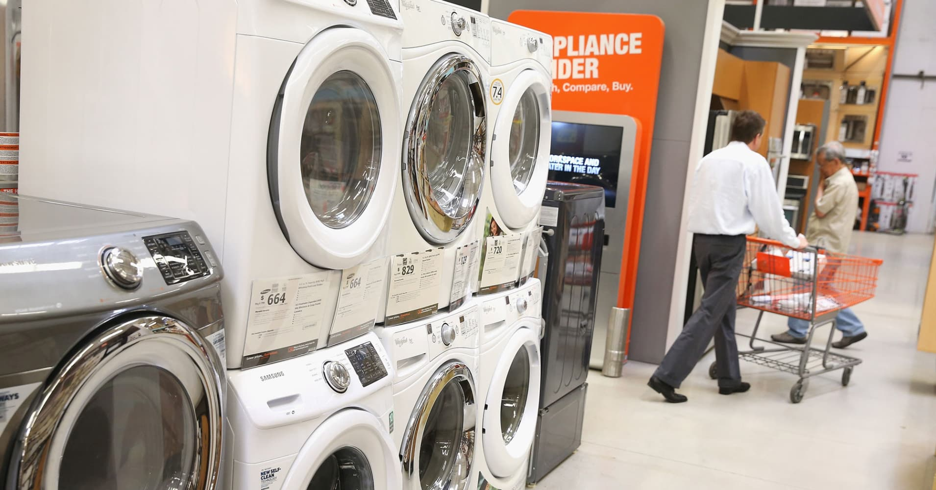 Household appliances home depot