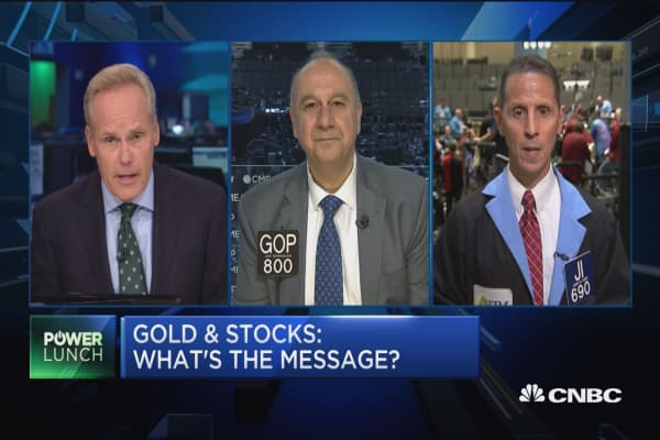 Gold rallies alongside safe havens