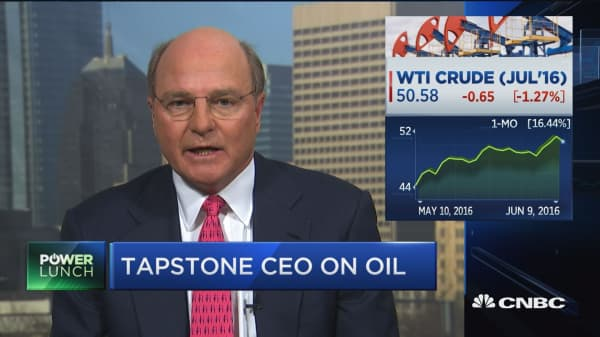 Big oil names see oil moving higher