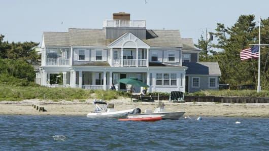 John Kerry's house in Nantucket, Massachusettes